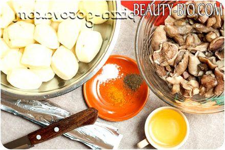 Фото - інгредієнти для картоплі