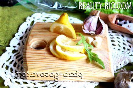 Фото - нарізаємо лимон