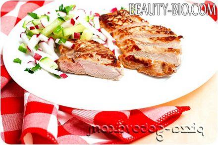 Фото - рецепт стейка з свинини