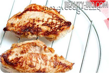 Фото - як приготувати стейк зі свинини на сковороді
