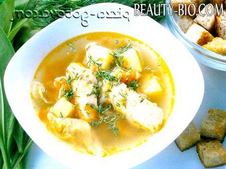 Фото - Рибний суп з сьомги фото
