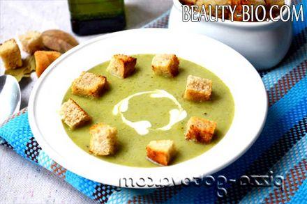 Фото - суп-пюре з брокколі фото