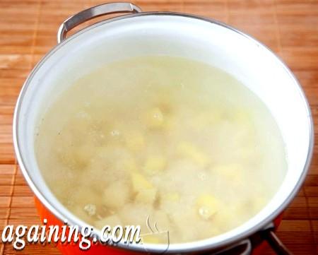 Фото - у воду опускаємо картопля