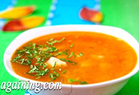 Фото - рибний суп з консерви