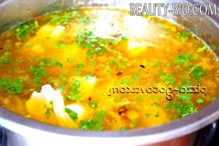 Фото - смачний суп з реберець