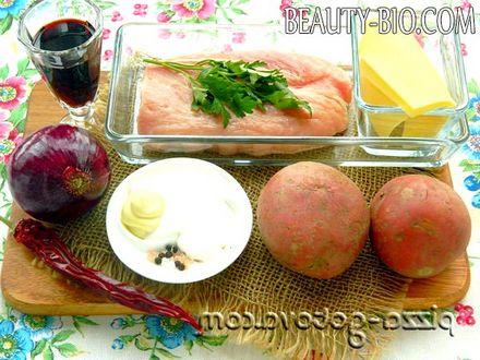 Фото - Інгредієнти для свинини по французьки
