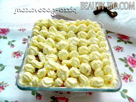Фото - прикрашаємо десерт кремом