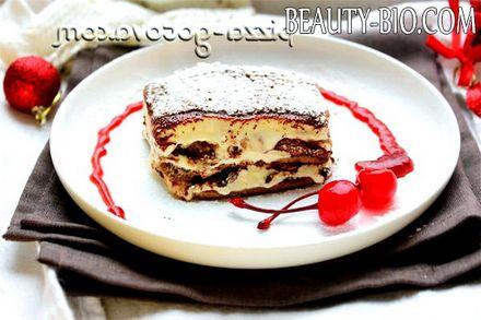 Фото - торт тірамісу в домашніх умовах