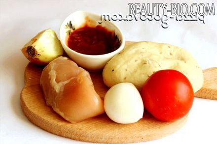 Фото - Інгредієнти для піци кальцоне