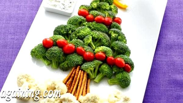 Фото - Christmas-Veggie-Tree