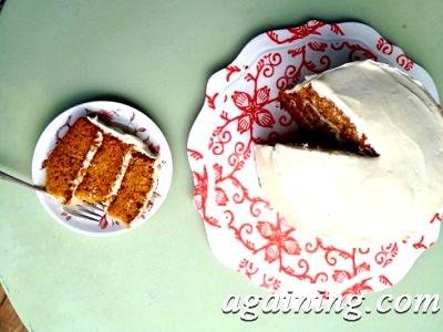 Фото: Морквяний торт