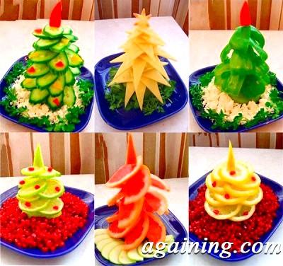 Фото: Новорічний салат Ялинка