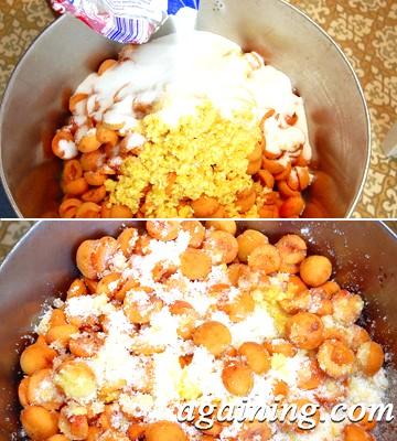 Фото: Засинаю абрикоси цукром