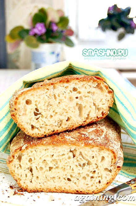 Фото: Хліб в духовці, фото