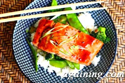 Фото: Запечений в духовці лосось