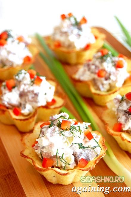 Фото: Картопляні тарталетки