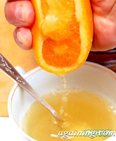 Фото: Додаємо сік апельсина
