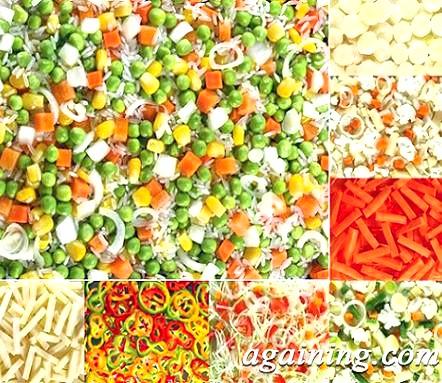 Фото: Овочі, що додаються в макарони по рецепту доктора Чжу