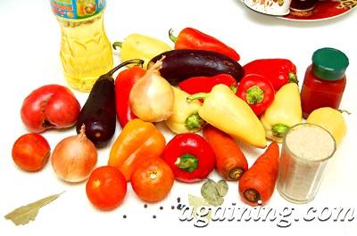 Фото: Гарний набір овочів