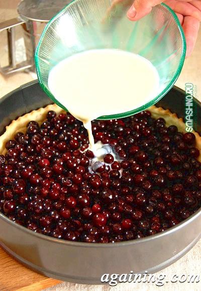 Фото: Персиковий пиріг рецепт фото