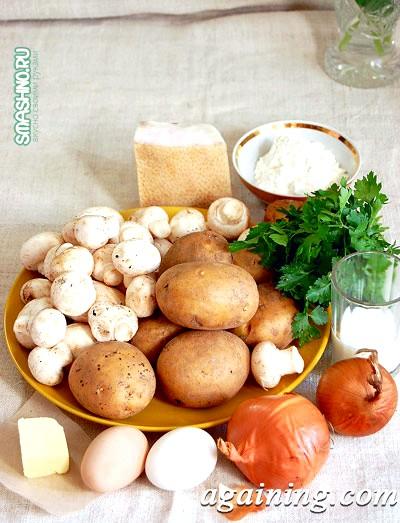 Фото: Продукти для картопляних фрикадельок
