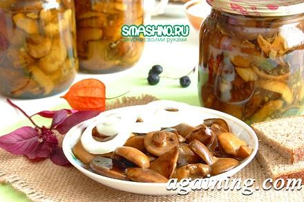 Фото: Смачні мариновані гриби