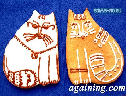 Фото: Готові коти-пряники