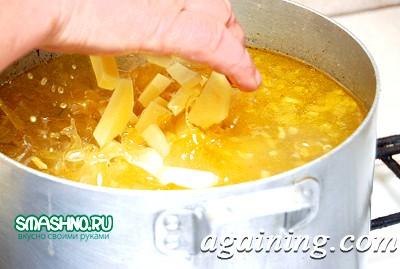 Фото: Закладаємо картоплю з рисом