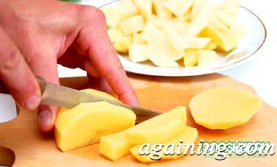 Фото: Підготовляю картоплю