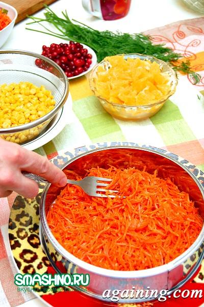 Фото: Шар корейської морквини
