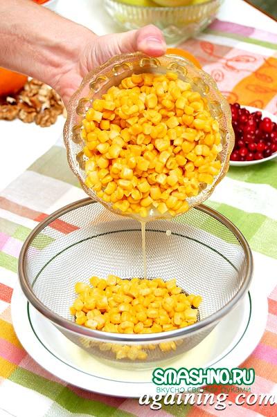 Фото: Консервована кукурудза