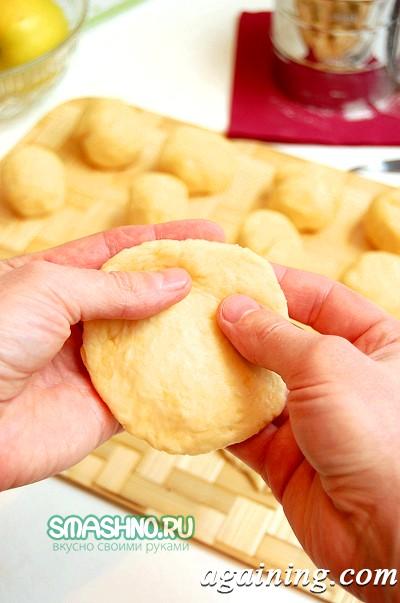 Фото: Сирні пиріжки з грибами