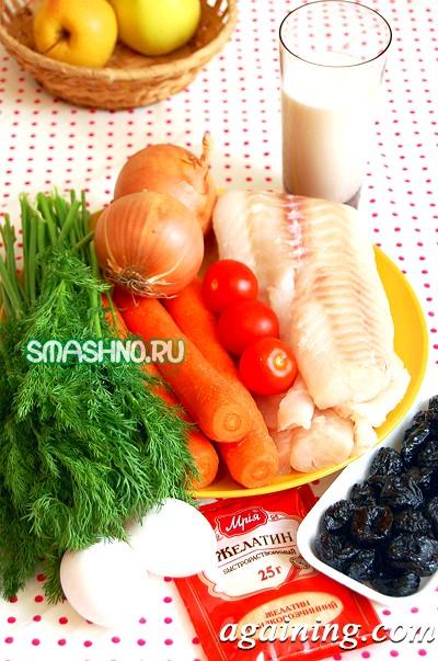 Фото: Продукти для рибного торта