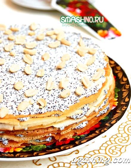 Фото: Блінчатий торт