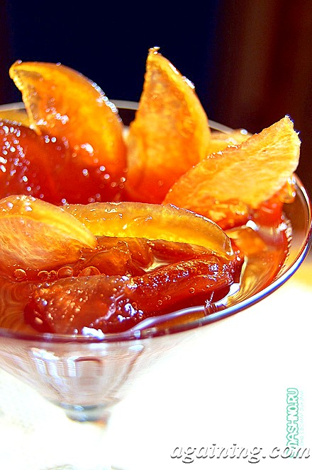 Фото: Янтарне варення з яблук