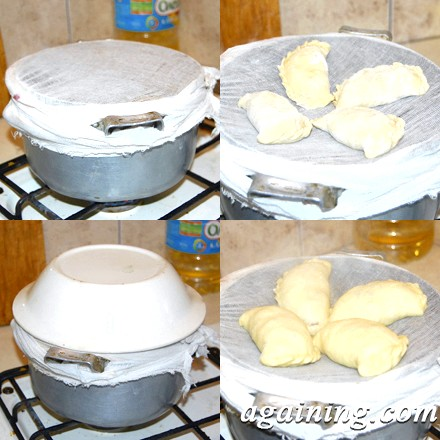 Фото: Приготування вареників на пару