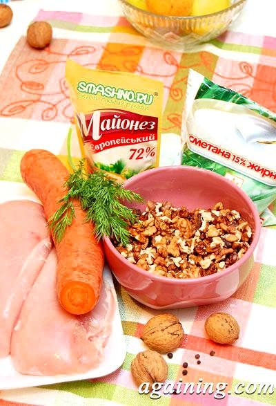 Фото: Продукти для салату