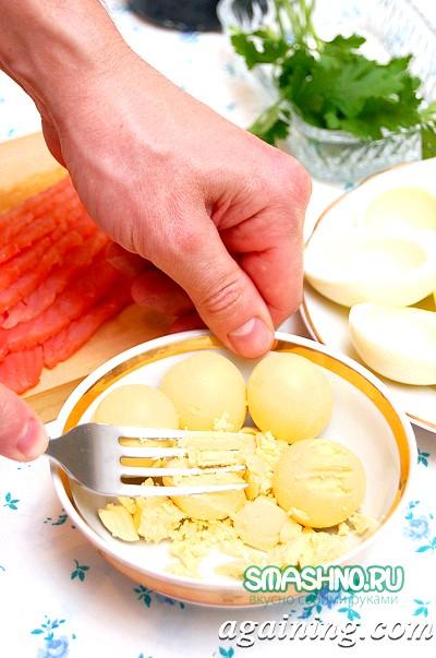 Фото: Як приготувати фаршировані яйця фото