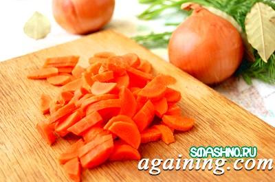 Фото: Нарізка моркви
